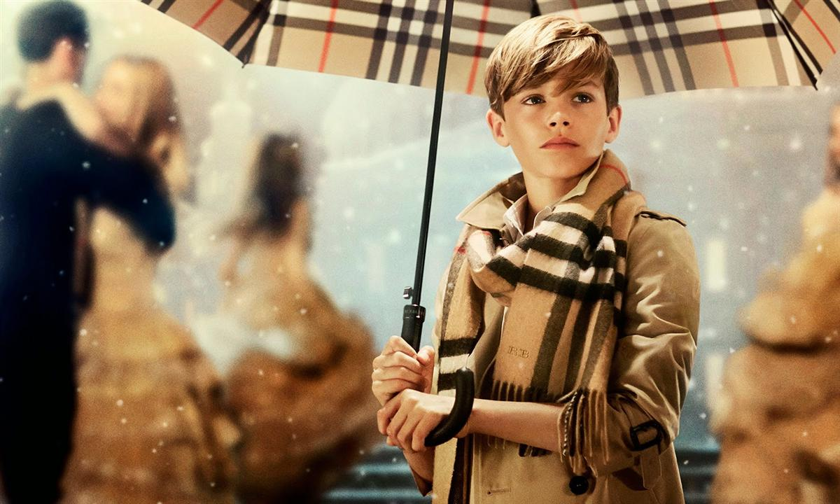 """Burberry's """"From London with Love"""" Campaign starring Romeo Beckham 1"""