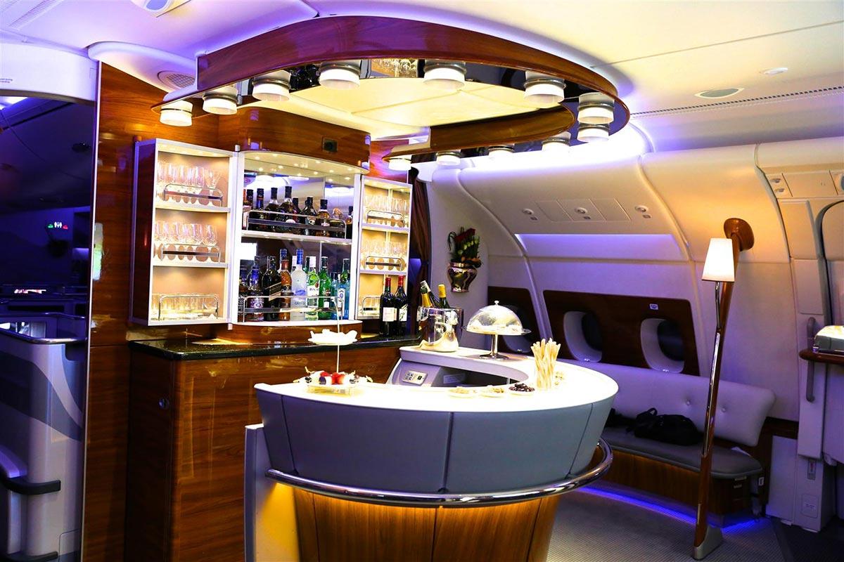 Ein $18,000 Dollar Flug in der First Class Suite von Emirates 1