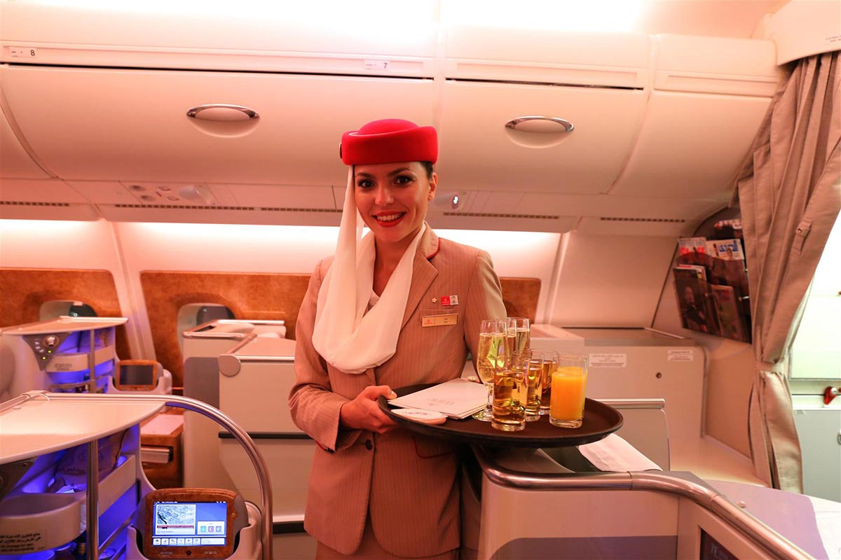 A $18,000 Dollar Flight in the Emirates First Class Suite 6