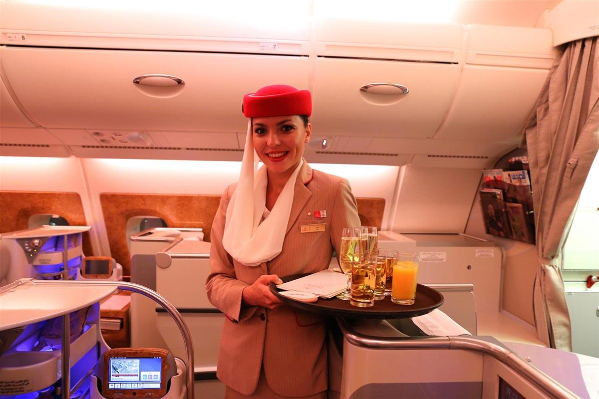 Ein $18,000 Dollar Flug in der First Class Suite von Emirates 6