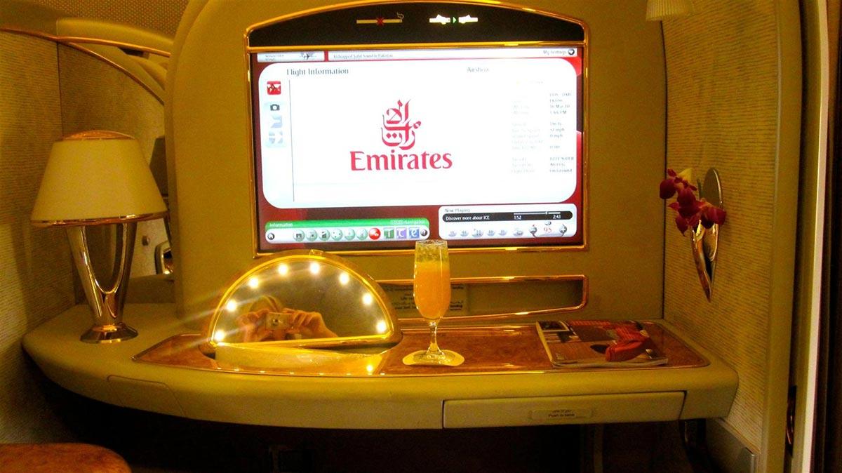 Ein $18,000 Dollar Flug in der First Class Suite von Emirates 8