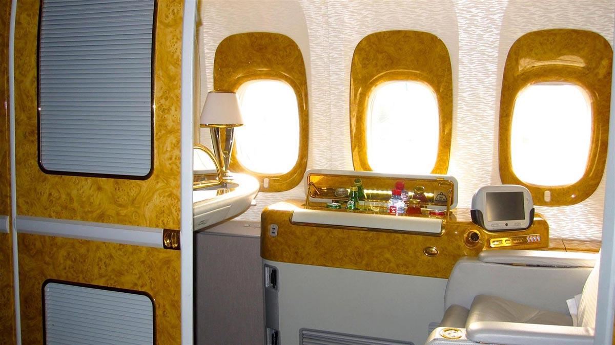 Ein $18,000 Dollar Flug in der First Class Suite von Emirates 11