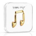 18-Carat Gold Earphones: Happy Plugs