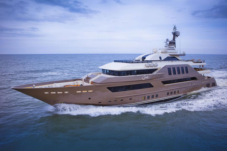 This MegaYacht by CRN Is The World's First Floating Garage 26