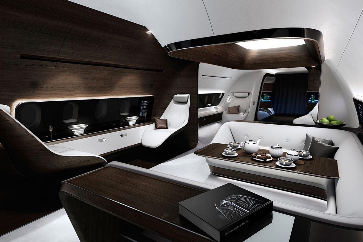 Mercedes-Benz style & Lufthansa Technik develop cutting-edge aircraft cabin 4