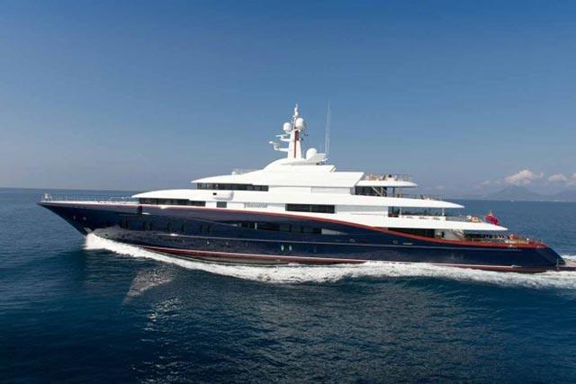 $300 Million Nirvana Yacht x Oceanco 2