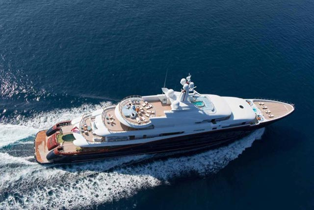 $300 Million Nirvana Yacht x Oceanco 1
