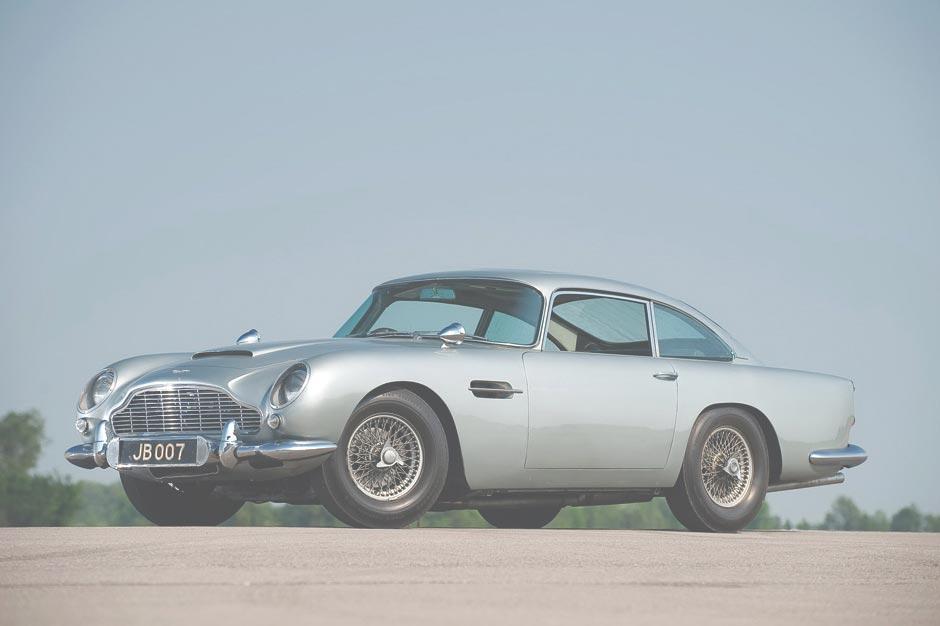Original James Bond Aston Martin Db5 Now For Sale
