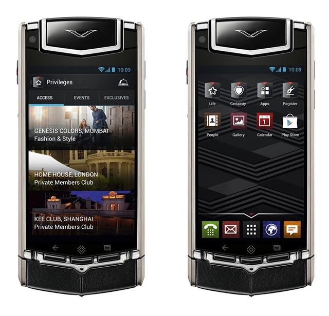 Stunning Luxury Smartphone by Vertu Ti 4