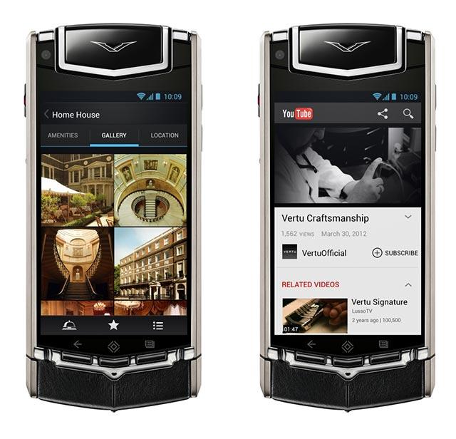 Stunning Luxury Smartphone by Vertu Ti 5