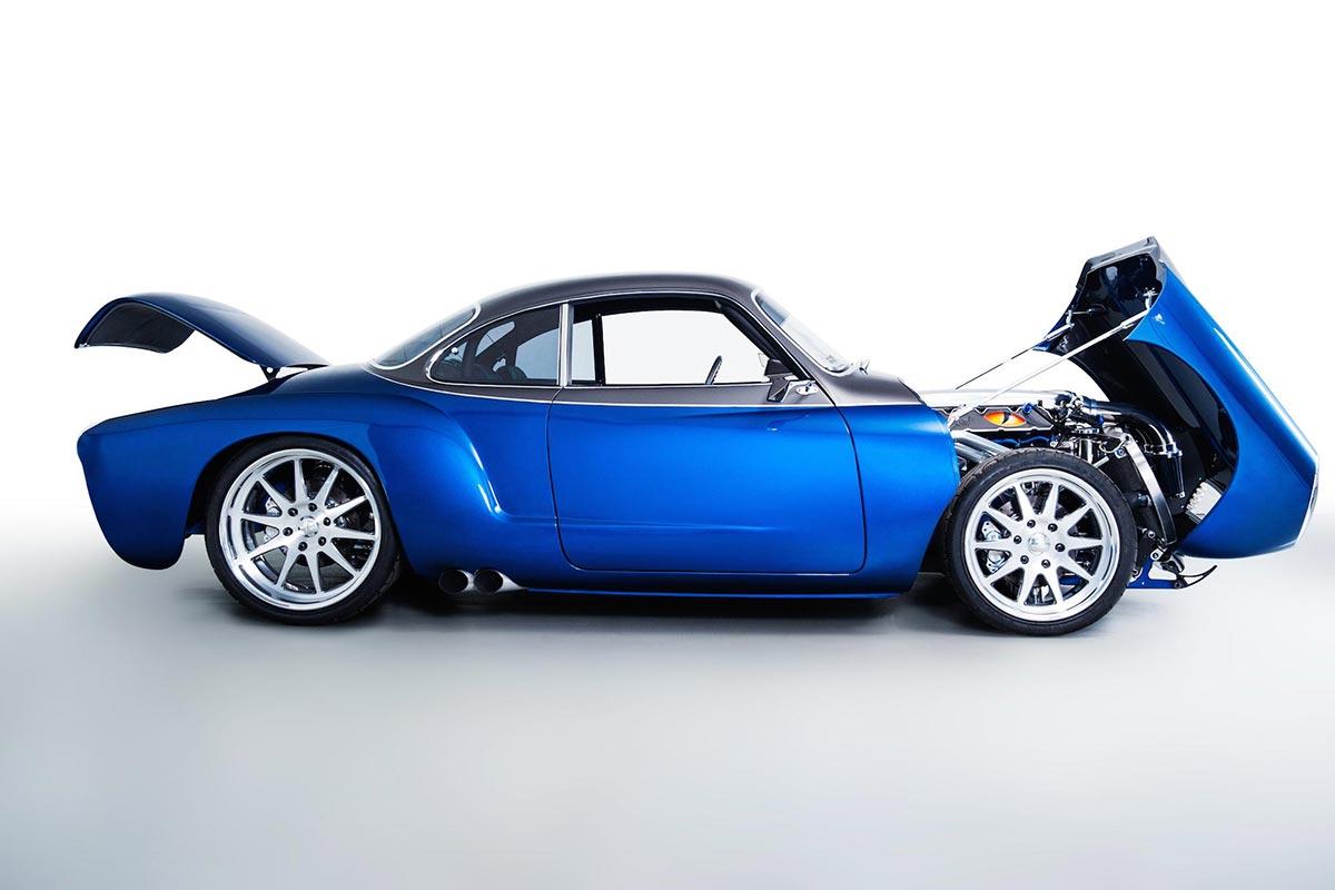 """The """"Blue Mamba"""" with 650PS x VW Kharmann-Ghia by Deanz Rodz 2"""