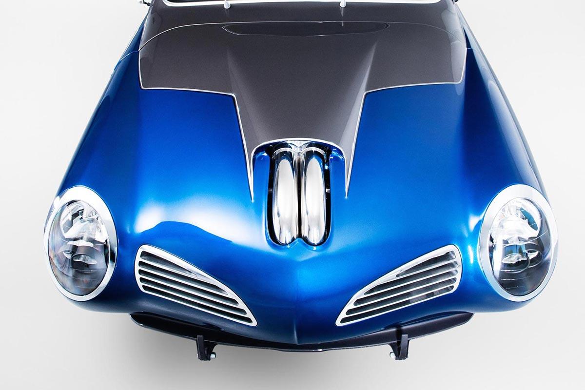 """The """"Blue Mamba"""" with 650PS x VW Kharmann-Ghia by Deanz Rodz 3"""