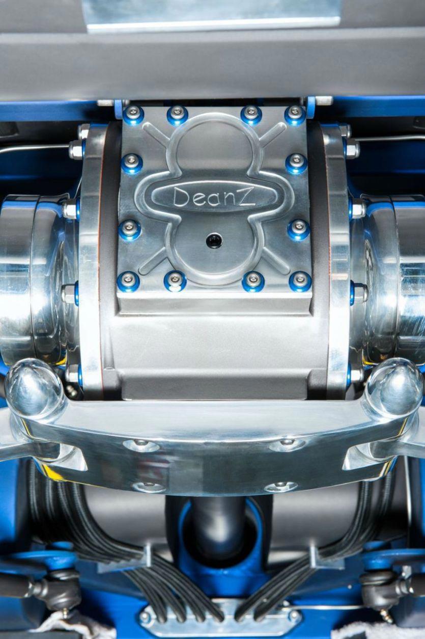 """The """"Blue Mamba"""" with 650PS x VW Kharmann-Ghia by Deanz Rodz 5"""