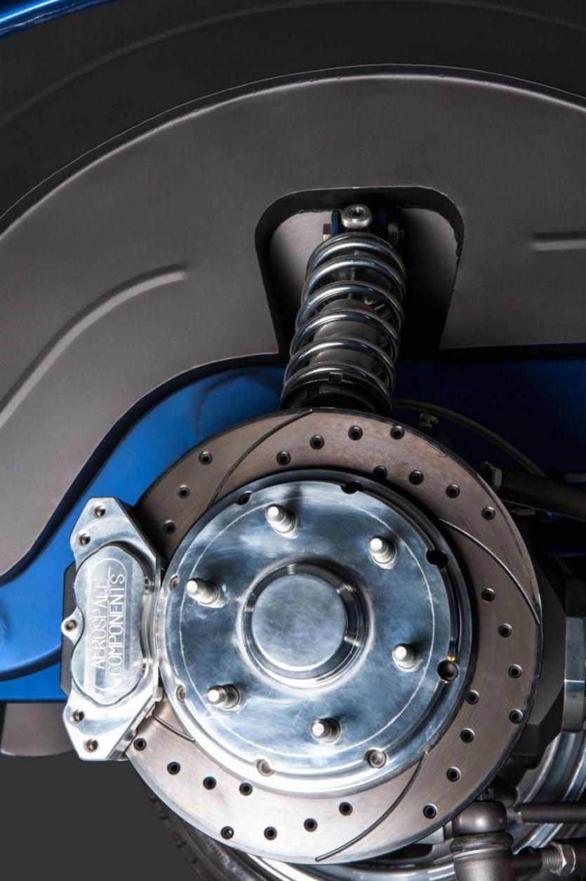 """The """"Blue Mamba"""" with 650PS x VW Kharmann-Ghia by Deanz Rodz 6"""