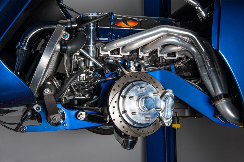 """The """"Blue Mamba"""" with 650PS x VW Kharmann-Ghia by Deanz Rodz 7"""