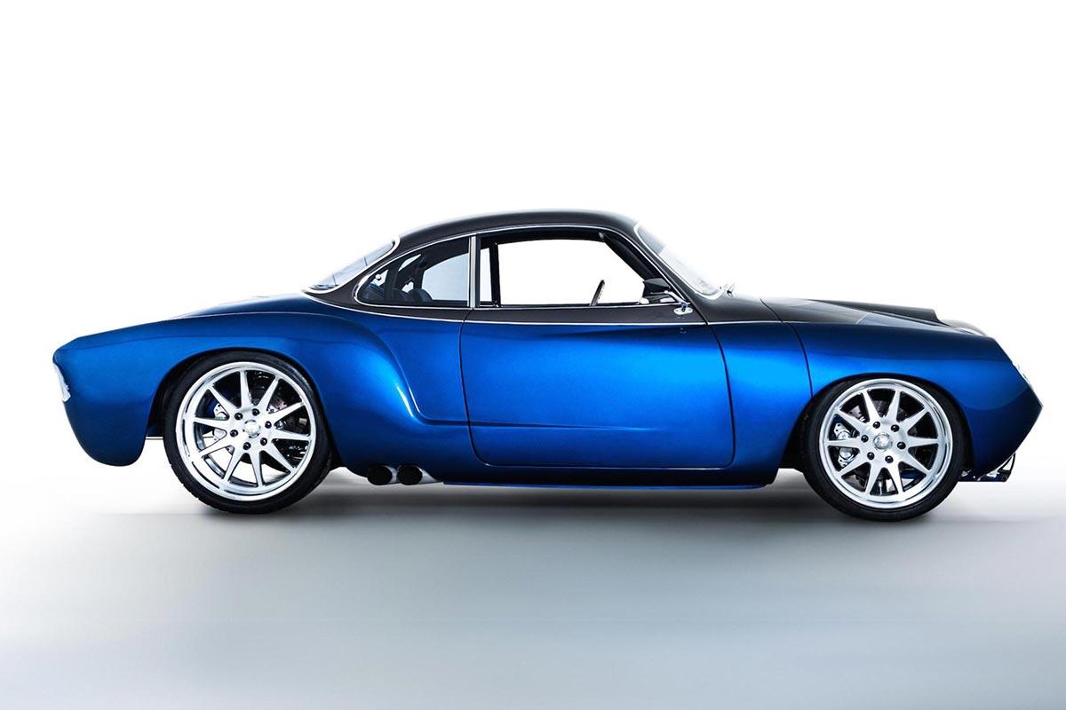 """The """"Blue Mamba"""" with 650PS x VW Kharmann-Ghia by Deanz Rodz 1"""