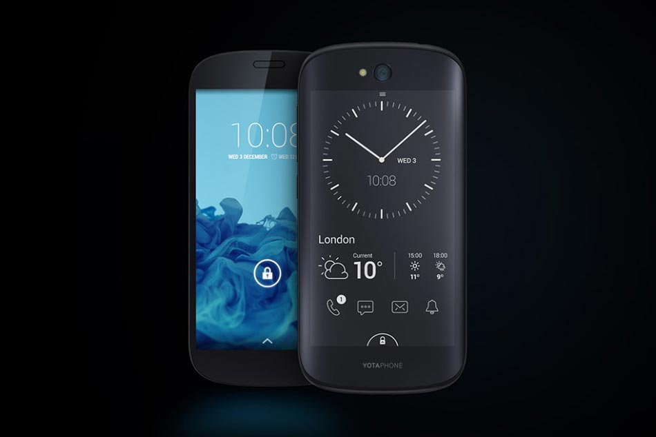 The World's First Smartphone with Two Screens: YotaPhone 2 1
