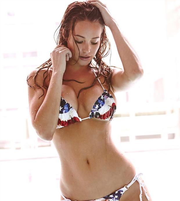 Bikini Shoot With Ms Hannah Davis Mr Goodlife