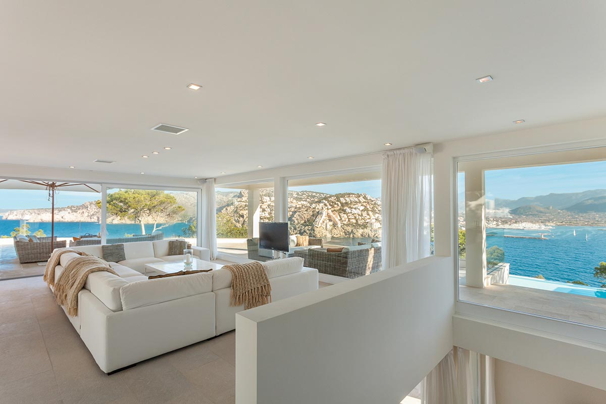 Villa with amazing views over Port Andratx 16