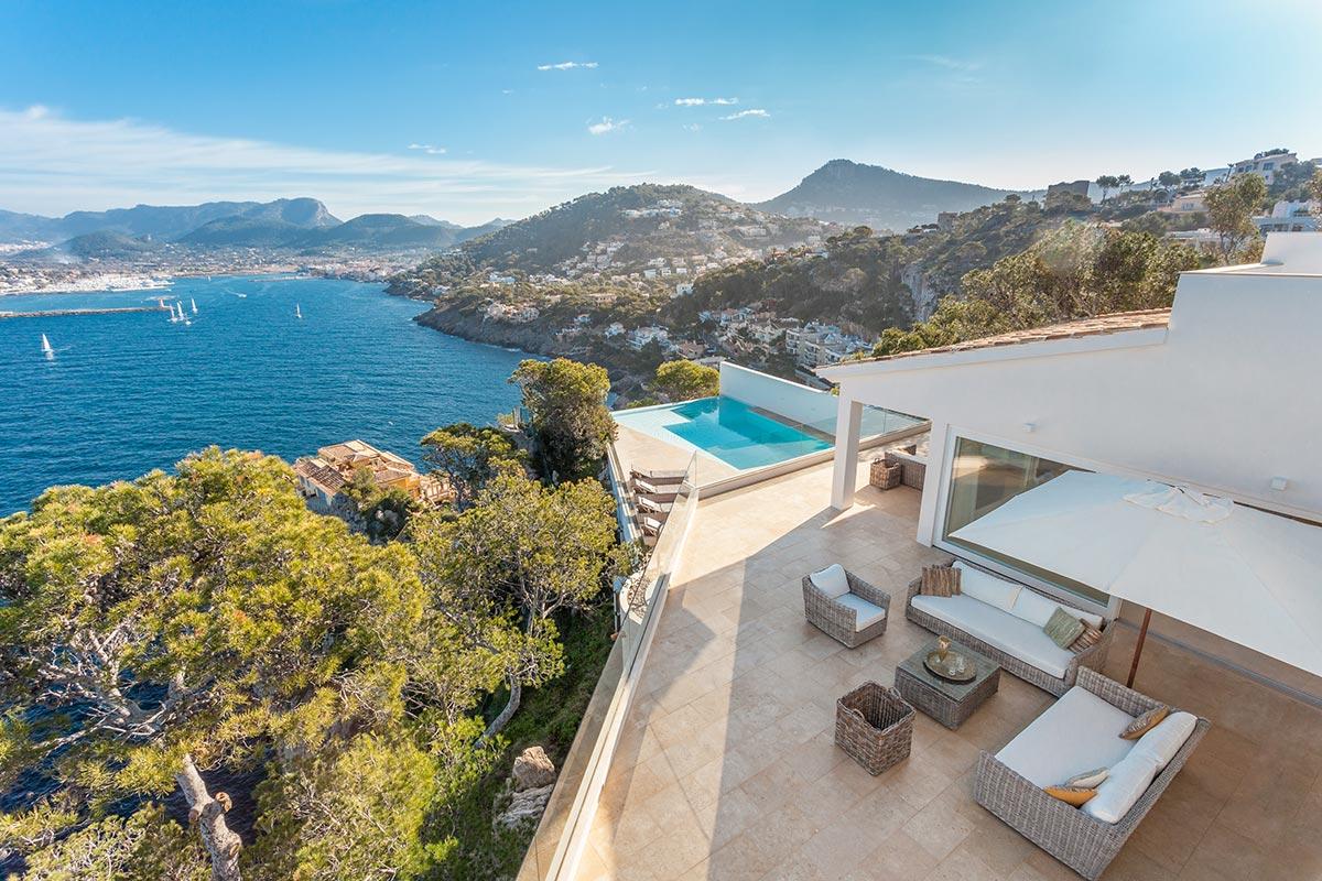 Villa with amazing views over Port Andratx 11