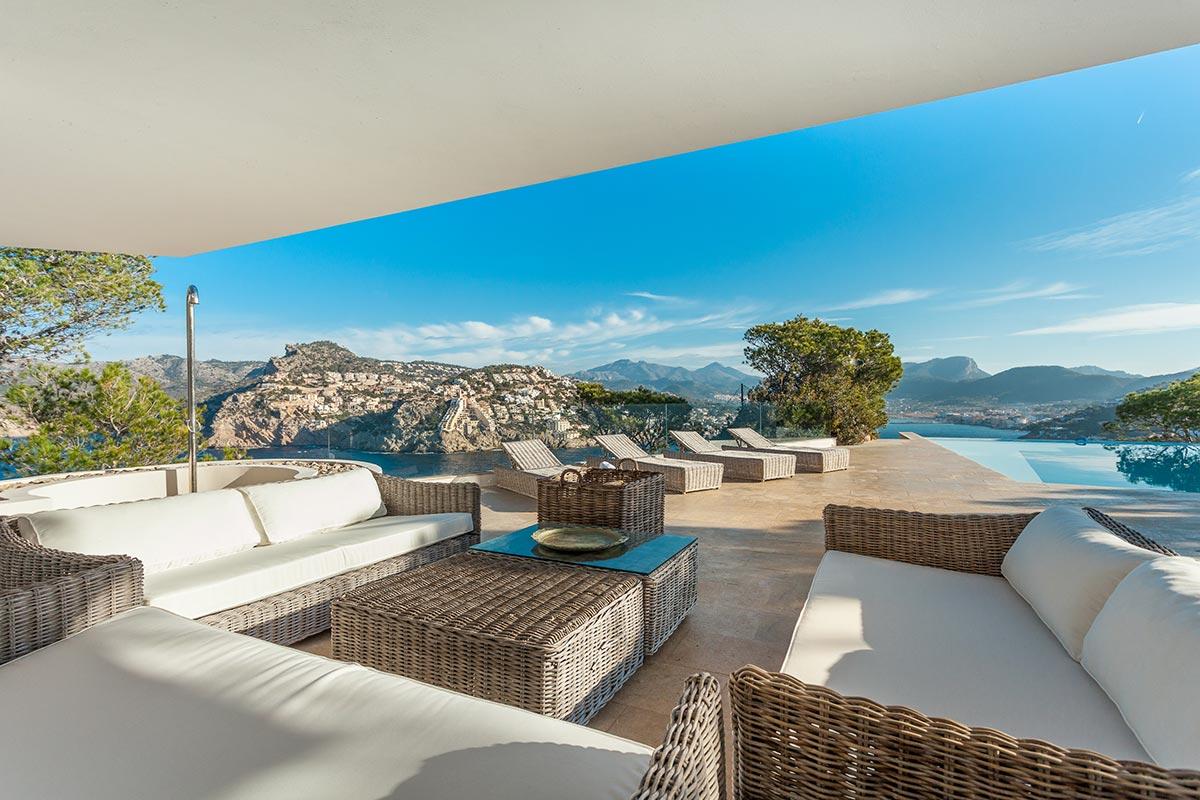 Villa with amazing views over Port Andratx 9