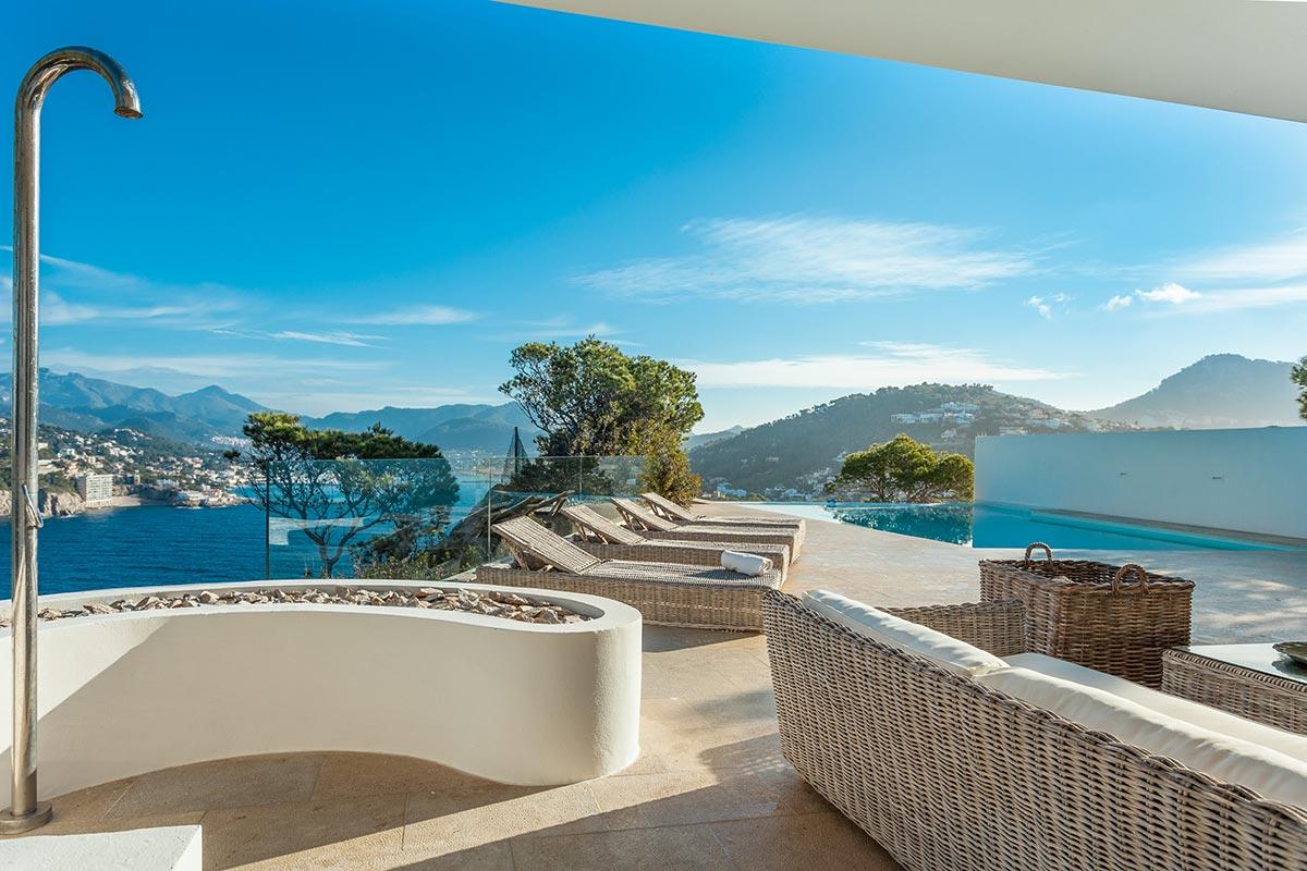 Villa with amazing views over Port Andratx 7