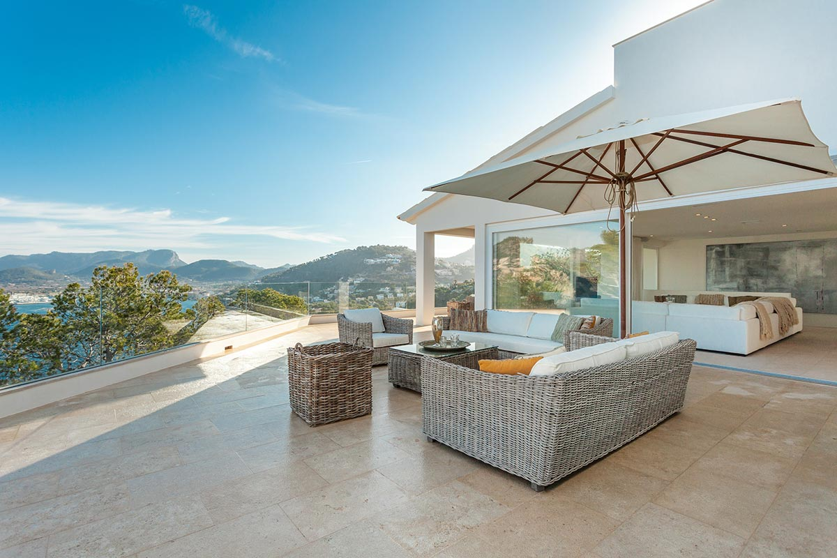 Villa with amazing views over Port Andratx 6
