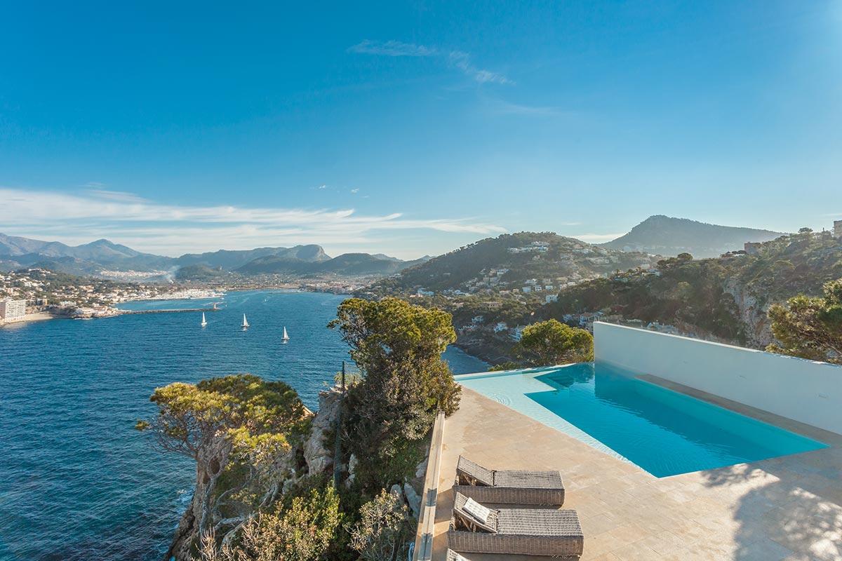 Villa with amazing views over Port Andratx 5