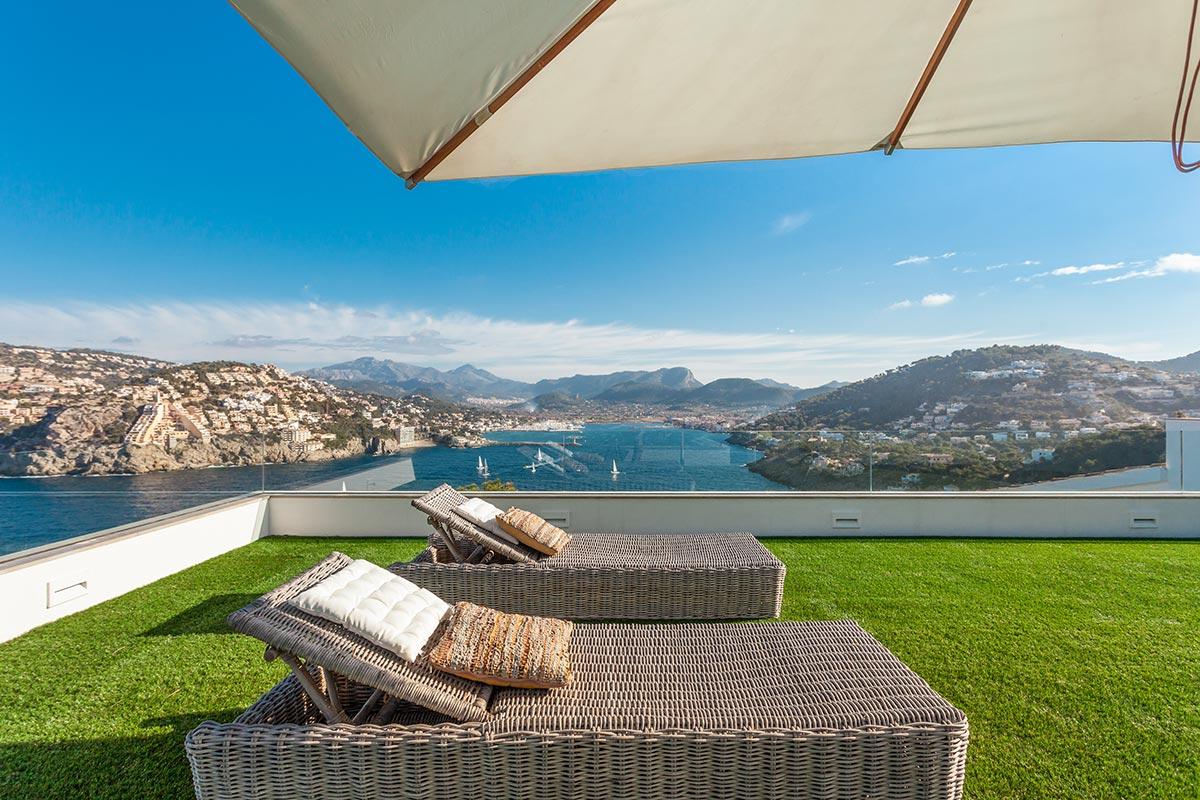 Villa with amazing views over Port Andratx 4