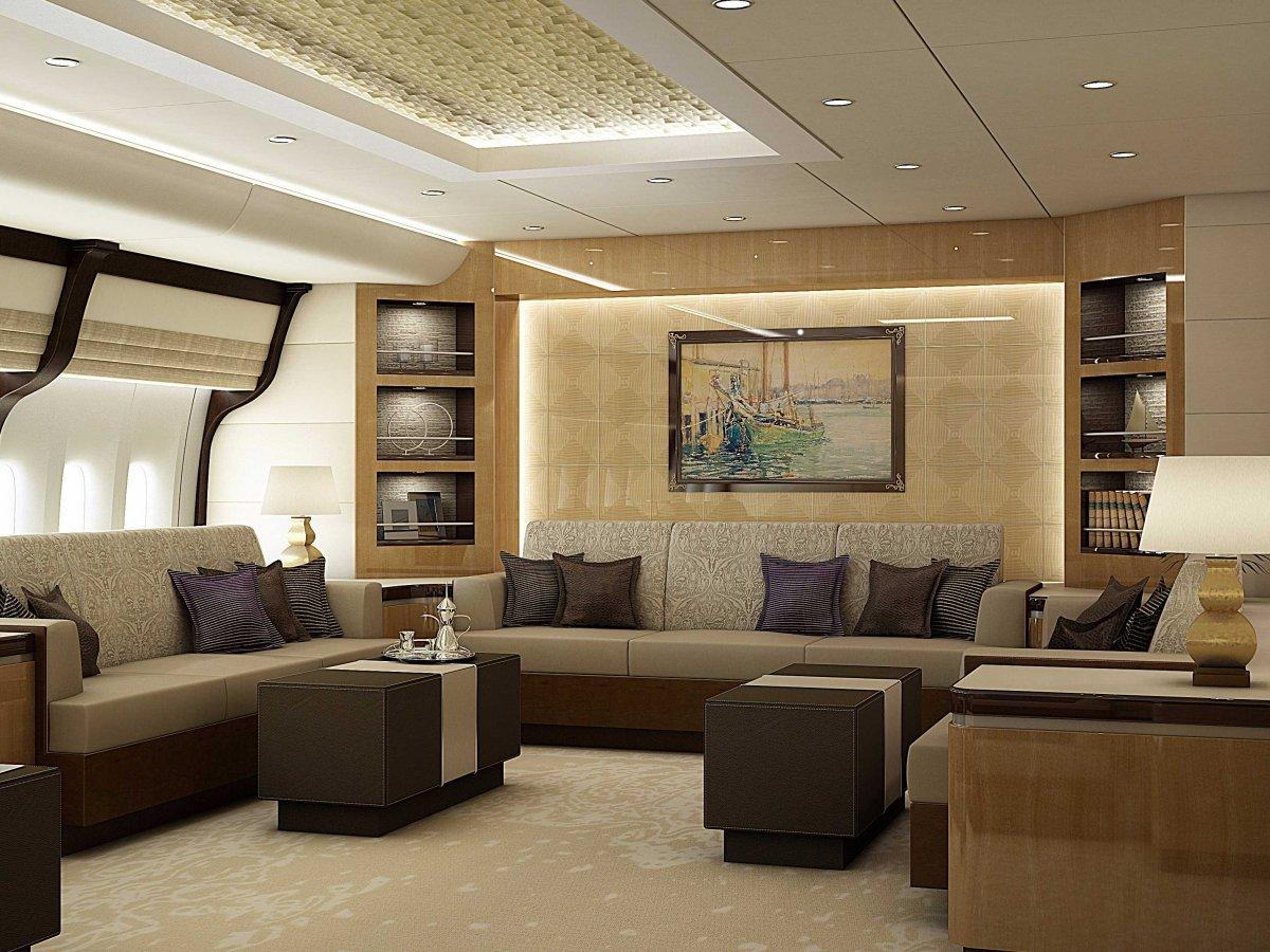 A Palace above the Clouds: The 747 Private Jet 7
