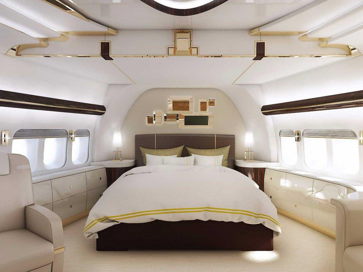 A Palace above the Clouds: The 747 Private Jet 2