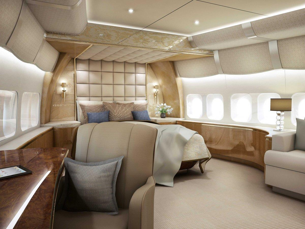 A Palace above the Clouds: The 747 Private Jet 8