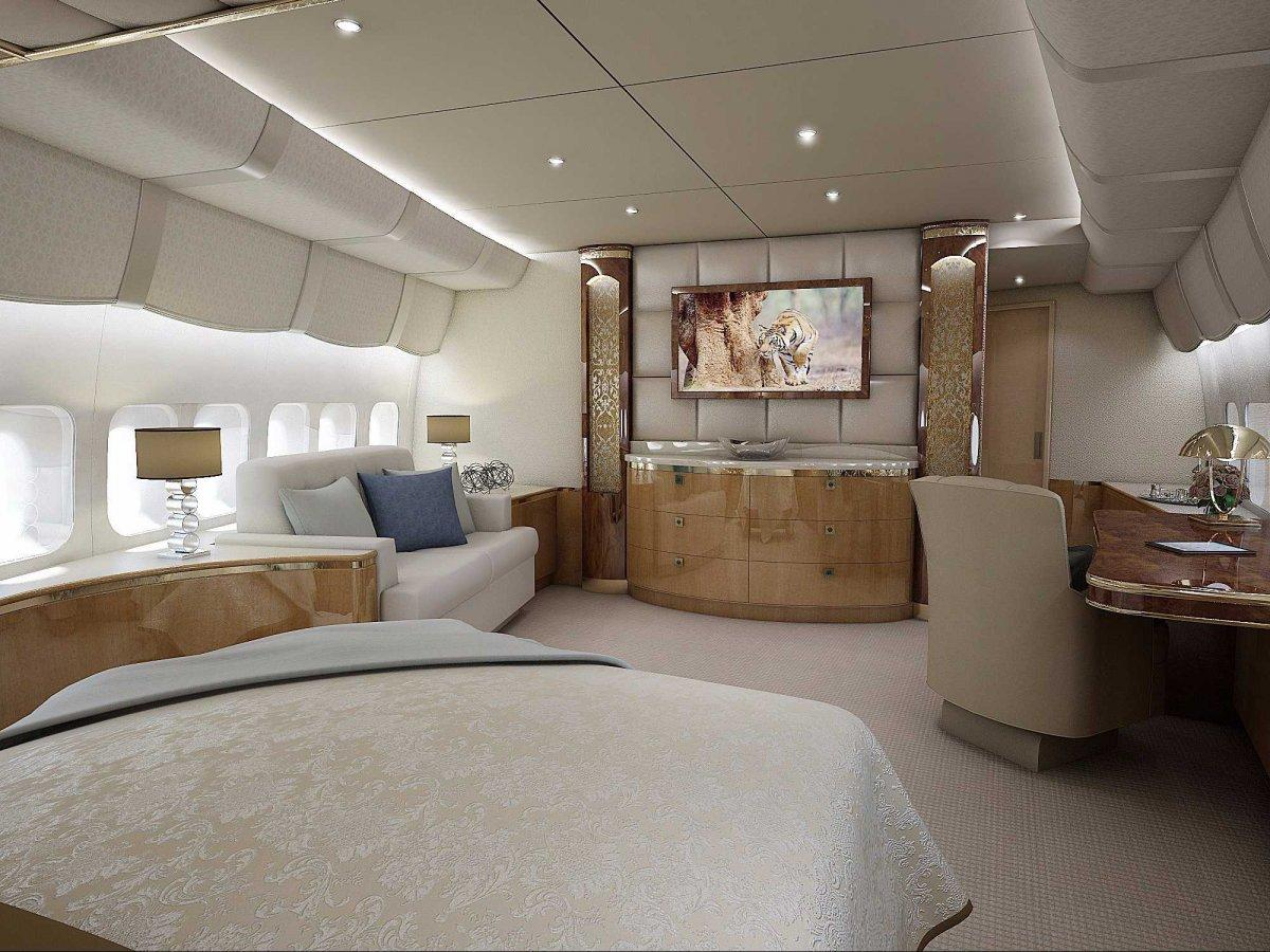 A Palace above the Clouds: The 747 Private Jet 9