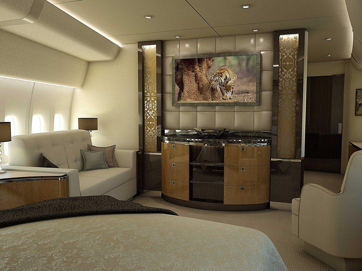 A Palace above the Clouds: The 747 Private Jet 11
