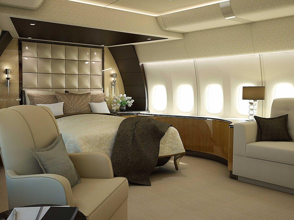 A Palace above the Clouds: The 747 Private Jet 12