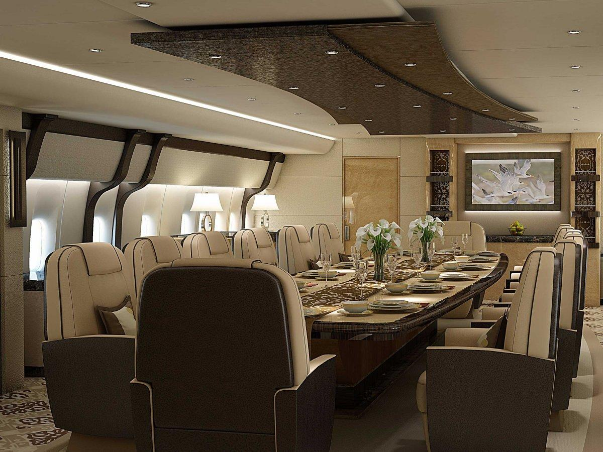 A Palace above the Clouds: The 747 Private Jet 16