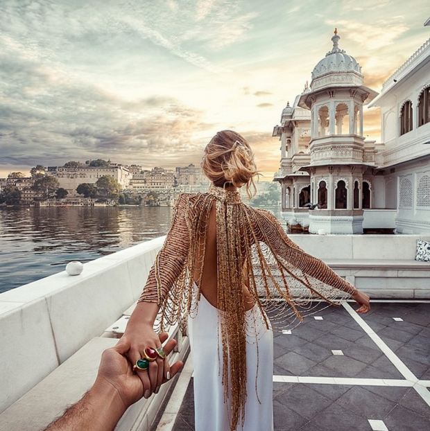 This Couple is conquering the World: Murad & Natalie Osmann's Honeymoon  10