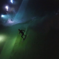 Relaxed Night Surfing at Wavegarden
