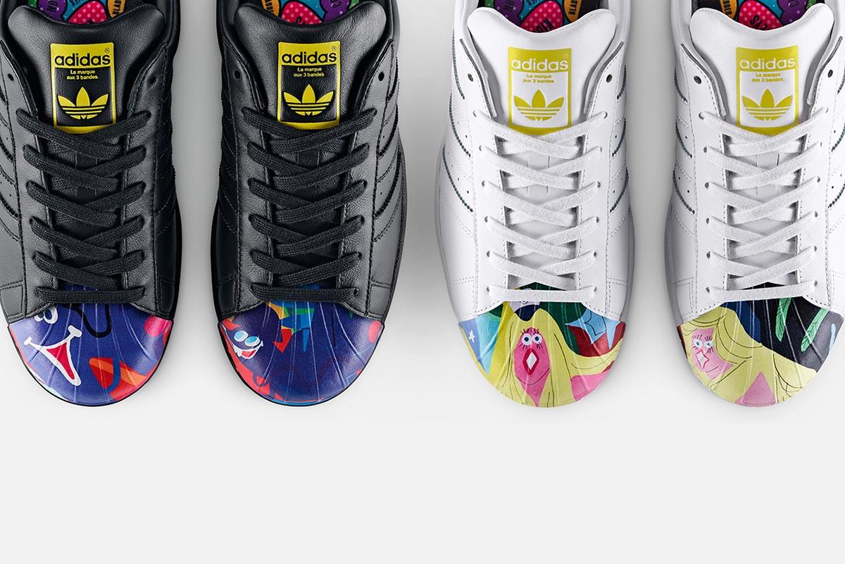 adidas Originals und Pharrell Williams x Supershell Artwork Kollektion 3