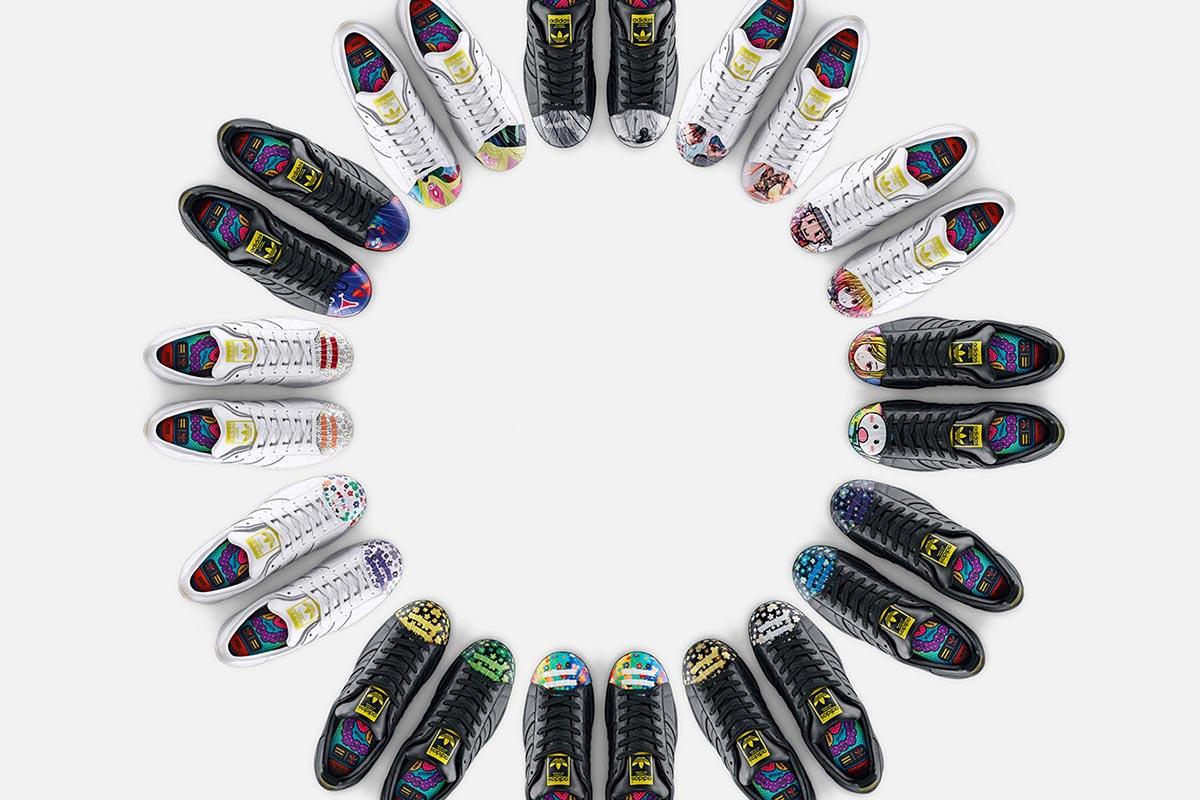 adidas Originals and Pharrell Williams x Supershell Artwork Collektion 1
