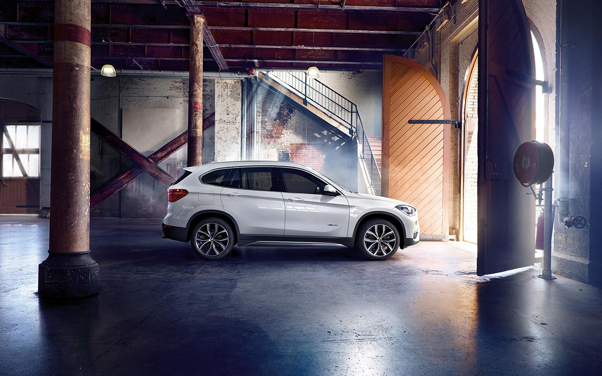 Second Generation: The all new BMW X1 4