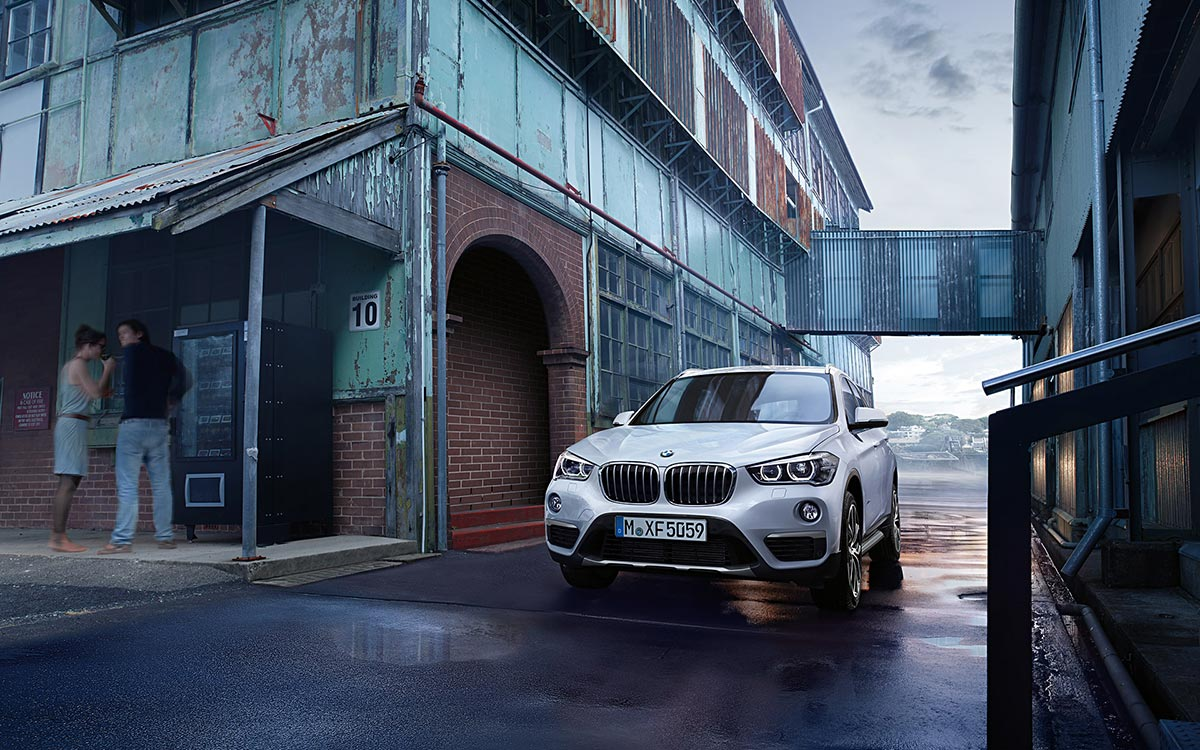 Second Generation: The all new BMW X1 7