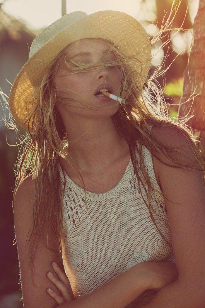 Victoria's Secret Angel Elsa Hosk for GQ Mexico 8