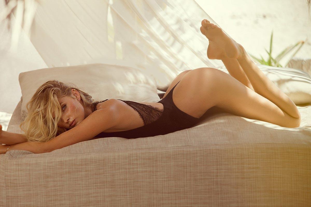 Victoria's Secret Angel Elsa Hosk for GQ Mexico 1