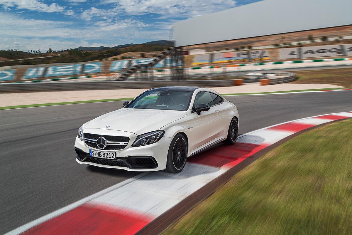 The new Mercedes-AMG C 63 Coupé 2