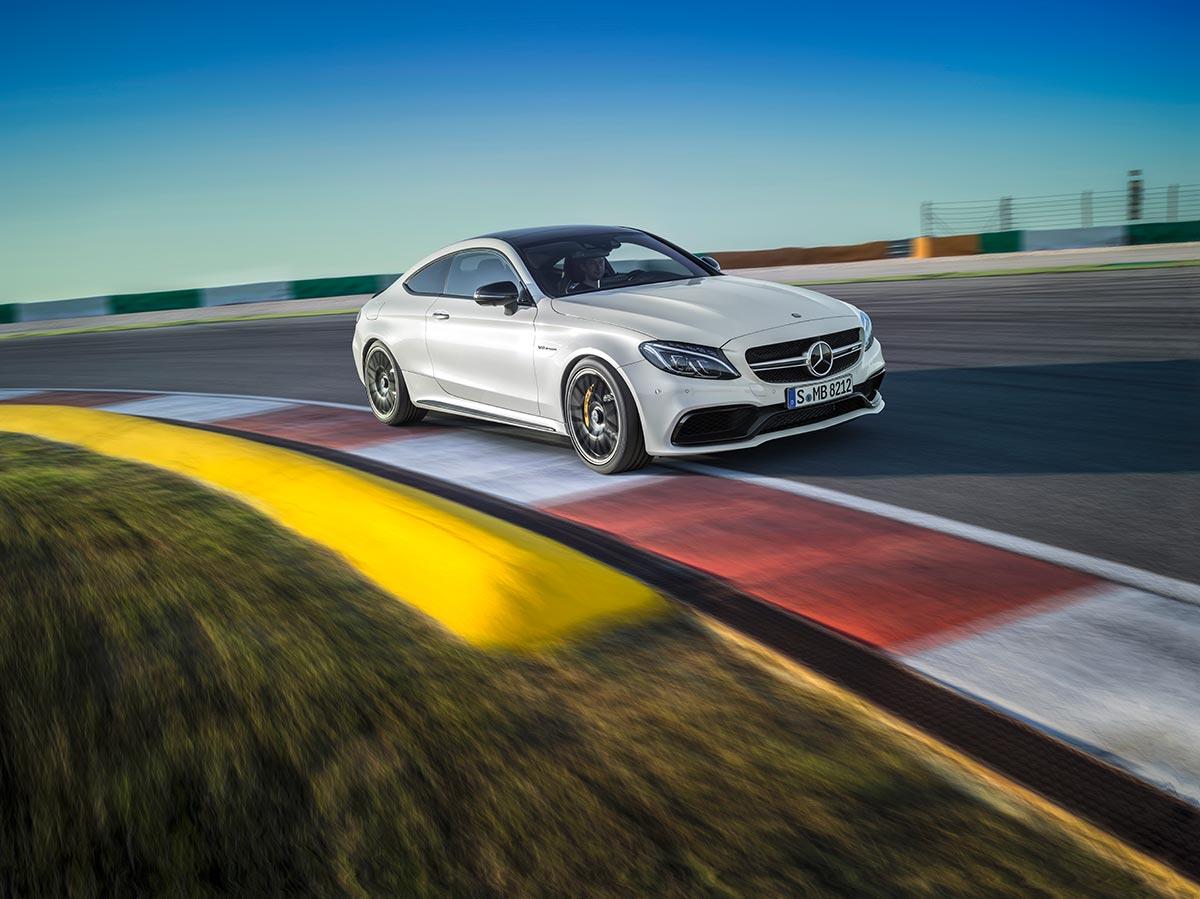 The new Mercedes-AMG C 63 Coupé 12