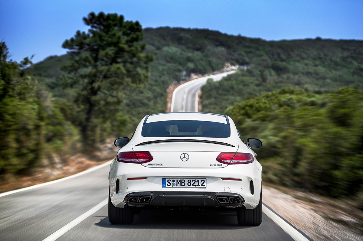 The new Mercedes-AMG C 63 Coupé 8