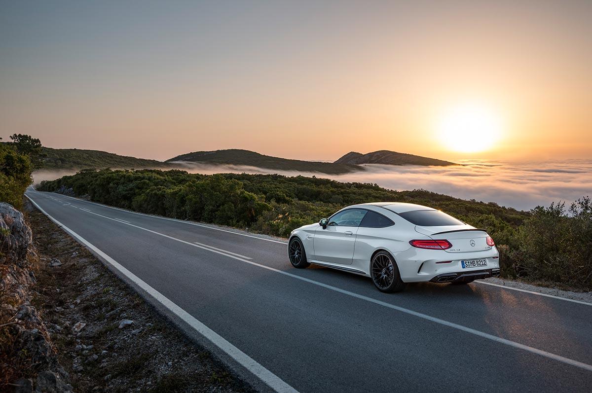 The new Mercedes-AMG C 63 Coupé 3
