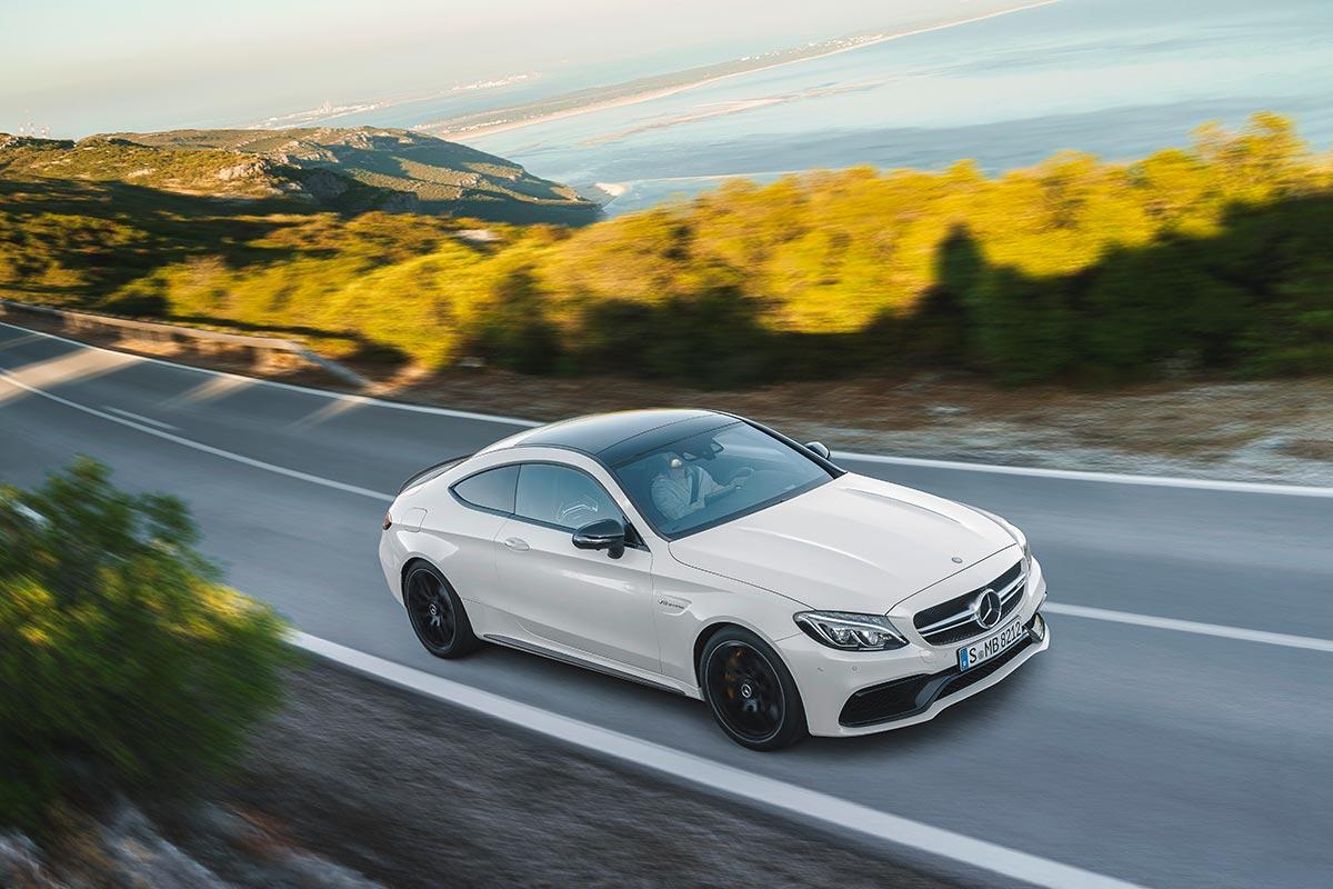 The new Mercedes-AMG C 63 Coupé 1