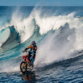 Motorbike Surfing with Robbie Maddison x